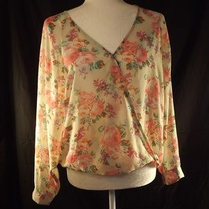 ❤️3 for $25 Forever 21 Blouse/Floral/Small